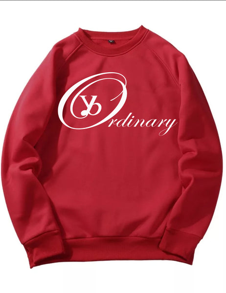 ybOrdinary - Men's Signature Logo Crew Neck (Different Colors Available)