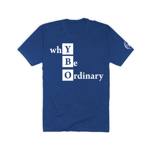 ybOrdinary - YBO Block Tee (Different Colors Available)