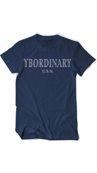 ybOrdinary - Men's Smaragd Logo T-Shirt (Different Colors Available)