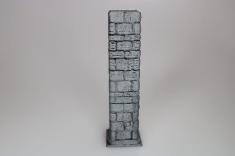 "Dungeon, Pllar Full Square 1"" x 1"" - (Set of 2)"