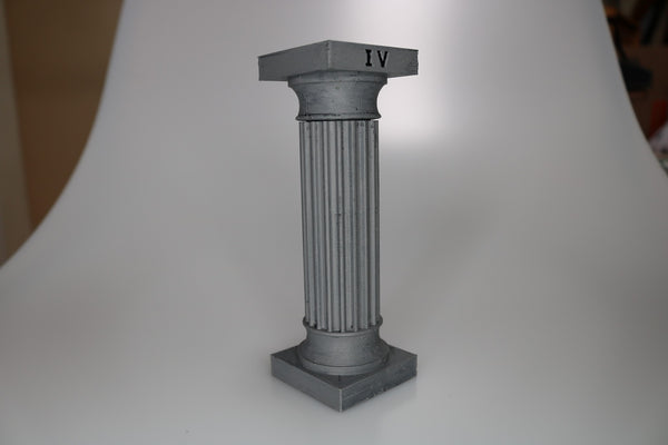 Temple, Roman Column, Large