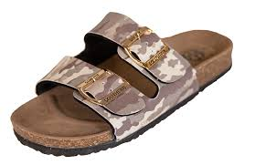 Simply Southern Sandals--Camo