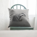 Badger | Cushion by Tup Designs & Wil Shrike