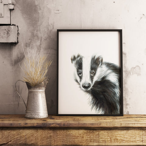 Badger | No2 by Tup Designs & Wil Shrike