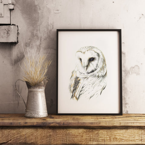 Barn Owl by Tup Designs & Wil Shrike