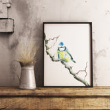 Blue Tit by Tup Designs & Wil Shrike