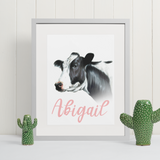 Holstein Cow | Personalised by Tup Designs & Wil Shrike