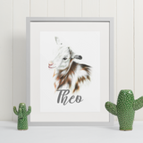 Goat | Personalised by Tup Designs & Wil Shrike