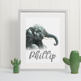 Indian Elephant | Personalised by Tup Designs & Wil Shrike