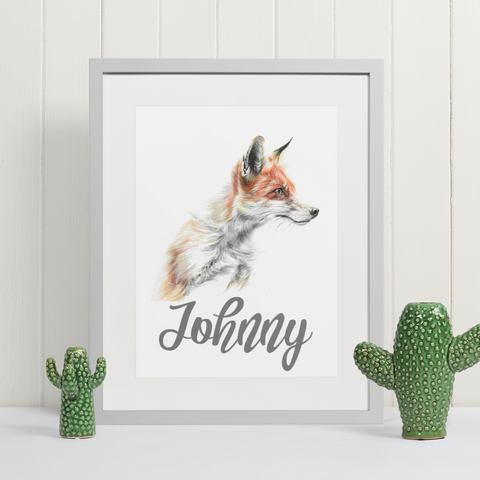 Fox | Personalised by Tup Designs & Wil Shrike