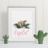 Frog | Personalised by Tup Designs & Wil Shrike