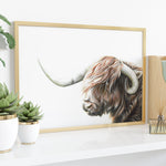 Highland Cow by Tup Designs & Wil Shrike