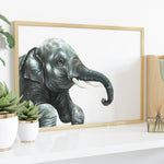 Indian Elephant by Tup Designs & Wil Shrike