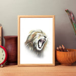 Lion by Tup Designs & Wil Shrike