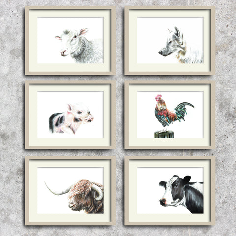 Farm Animal Collection by Tup Designs & Wil Shrike