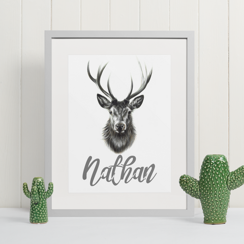 Stag | Personalised by Tup Designs & Wil Shrike