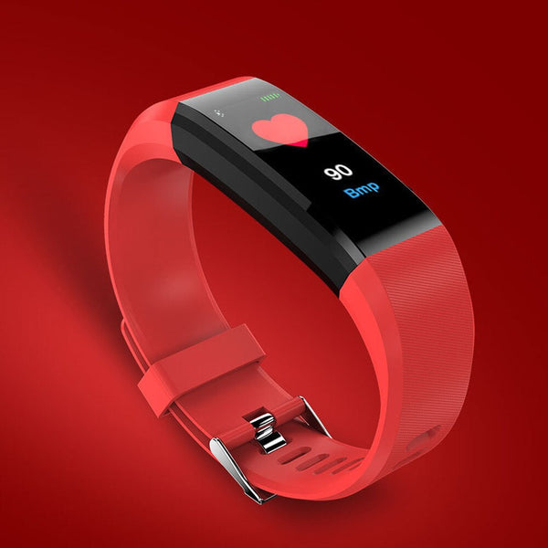 Fitness Tracker w/Color Screen & Heart Rate Monitor