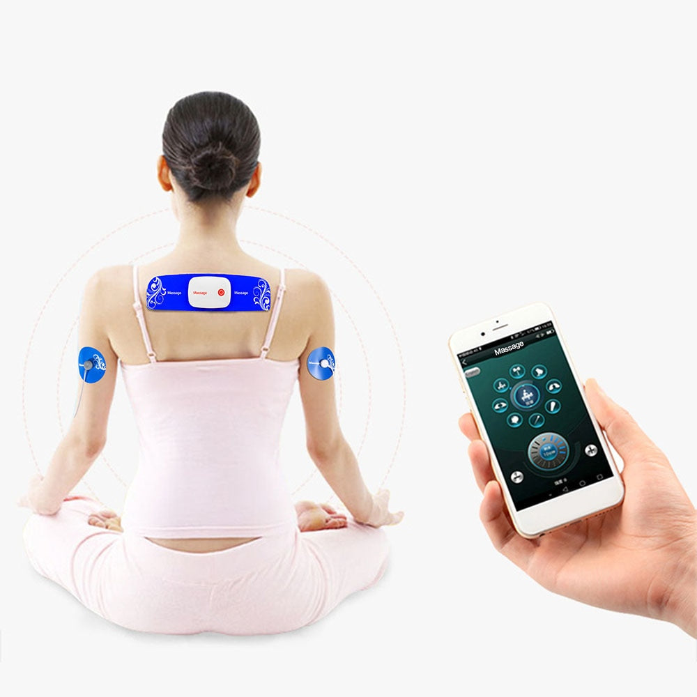Portable Wireless Intelligent Massager with App