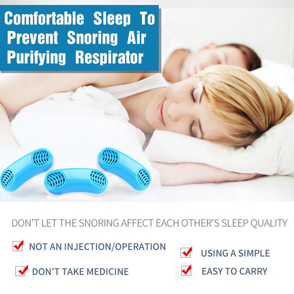 Silicone Anti Snore Relief- Snoring Device Red