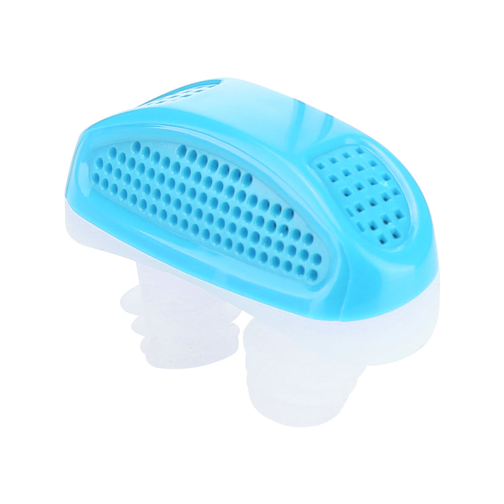 Silicone Anti Snore Relieve Snoring Device Blue