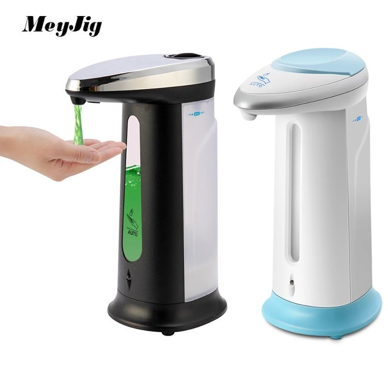 Automatic, Touch-less, Dispenser for Soap, Shampoo and Conditioner.  Smart Sensor that allows touch-less liquid dispensing.  Holds 400ml.  Great Gift !!!