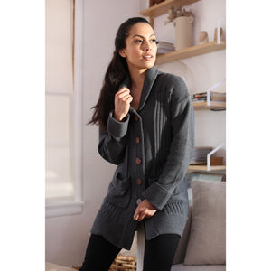 Nook Chunky Cotton Cardigan