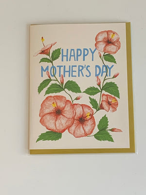 Floral Mother's Day Charity Greeting Card