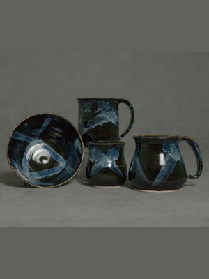 Muskoka Bay Pottery - Liquorice collection