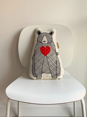 Charity Hug Pillow - Bear