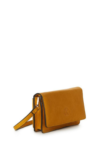 AVA Wallet Convertible Crossbody - Mustard