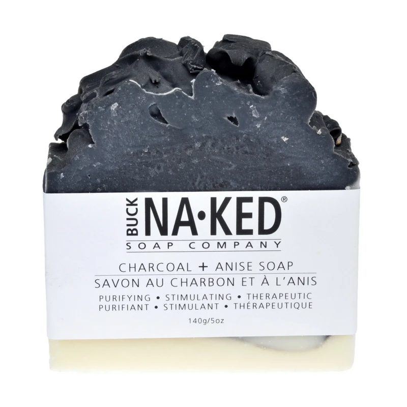 Charcoal and Anise Soap