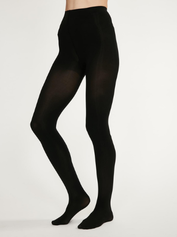 Elgin Opaque Bamboo Tights - Black