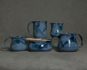 Muskoka Bay Pottery - Summer Blue Collection
