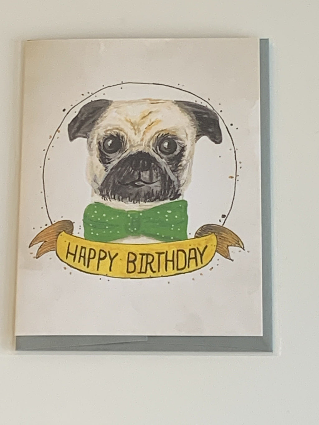 Birthday Dog Charity Greeting Card