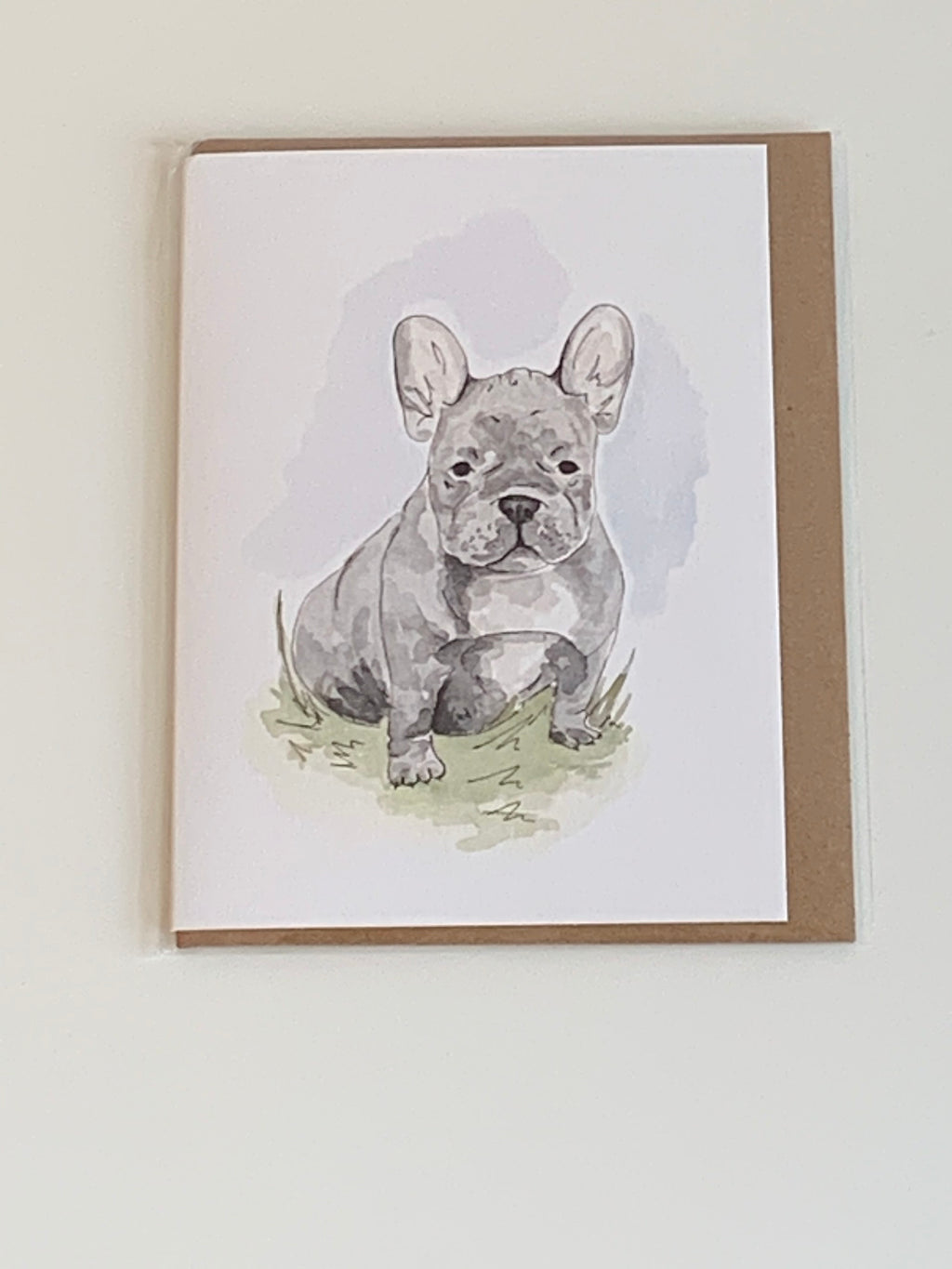 Frenchie Charity Greeting Card