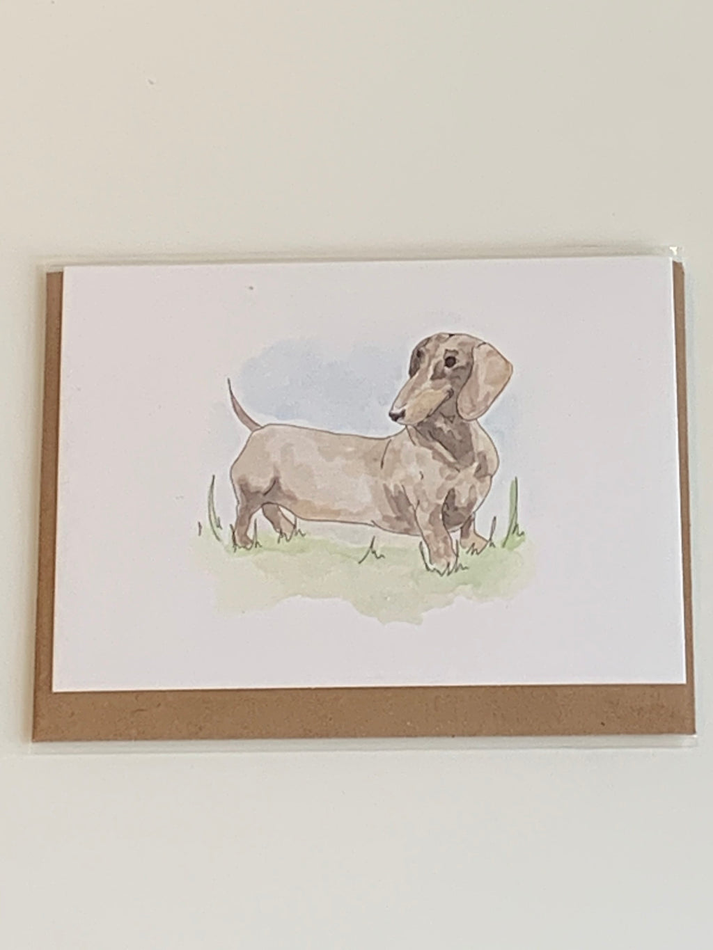 Dachshund Charity Greeting Card