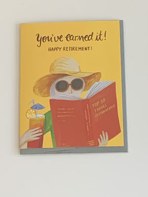 Happy Retirement Charity Greeting Card