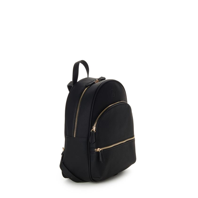 Nina Zipper Backpack - Black