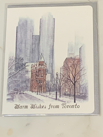 Holiday Charity Greeting Card - Toronto