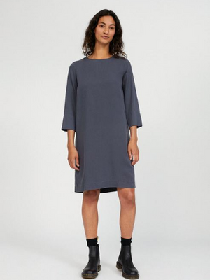 Vadelmaa Tencel Dress - Anthracite