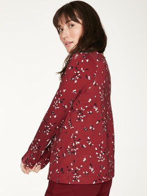 Enid Organic Cotton Long Sleeve Blouse