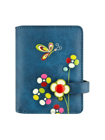 Butterfly Small Wallet - Blue