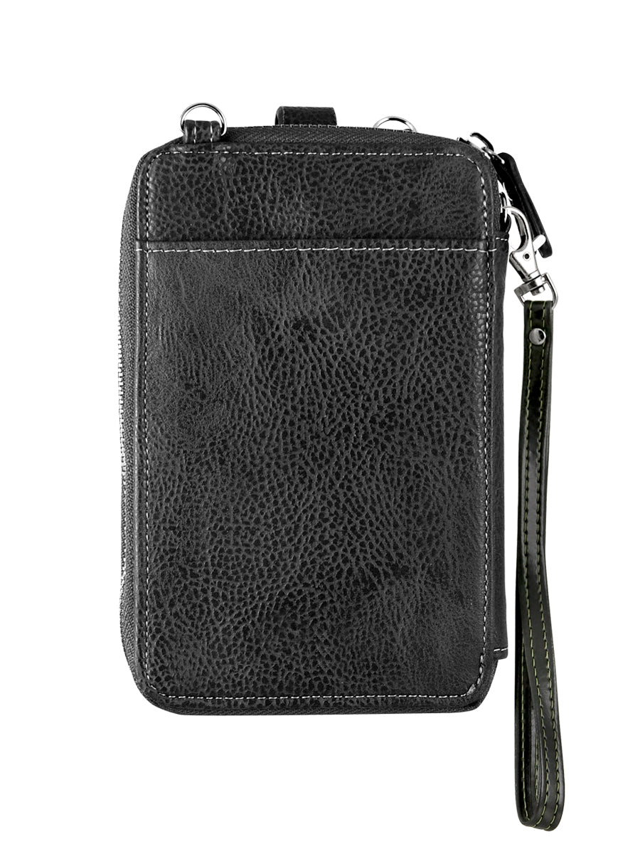Crossbody Smartphone Pouch - Black