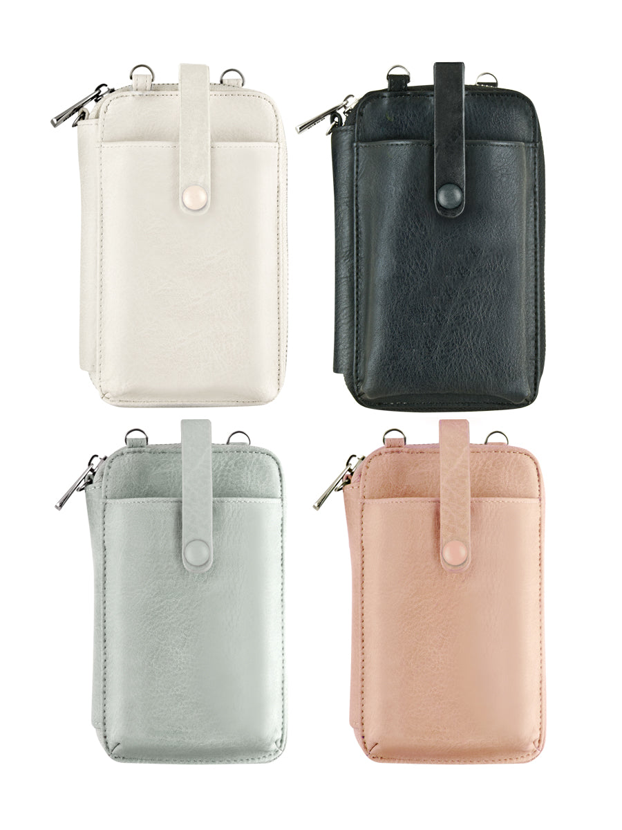 Crossbody Smartphone Pouch - Off White