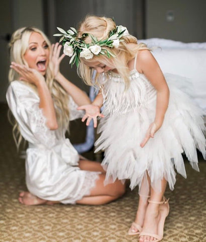 CUSTOM WEDDING ROBES (AS SEEN ON SAVANNAH SOUTAS/LABRANT)
