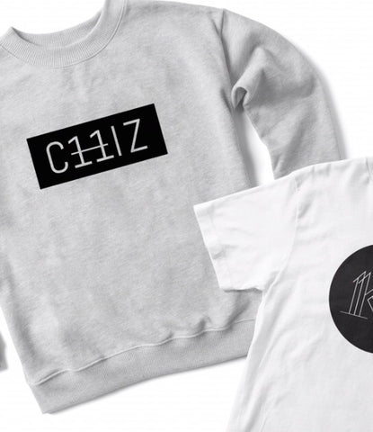 Grey Chiz unisex sweater (preorder)
