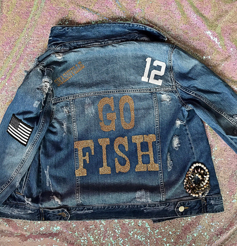 "CUSTOM DENIM ""as seen on Carrie Underwood & Jessie James Decker"""