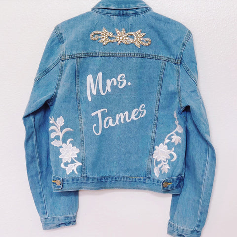 CUSTOM BRIDAL DENIM