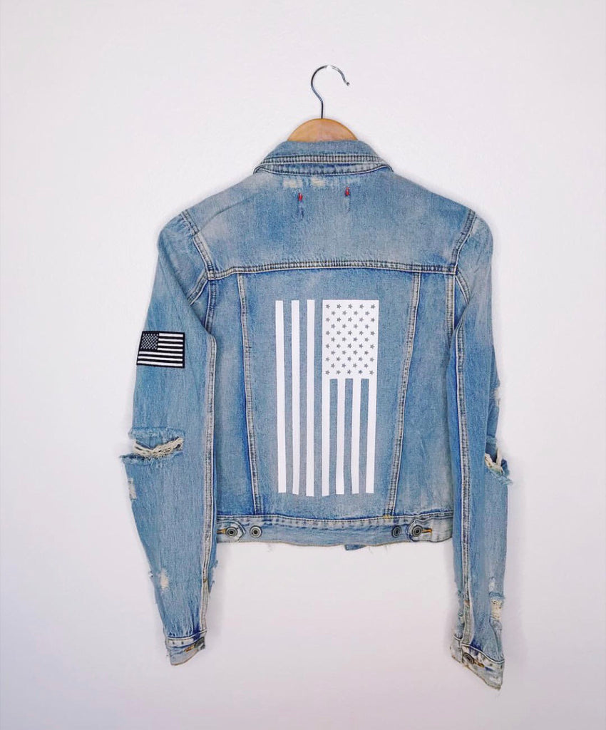 AMERICAN BABE 🇺🇸 denim jacket