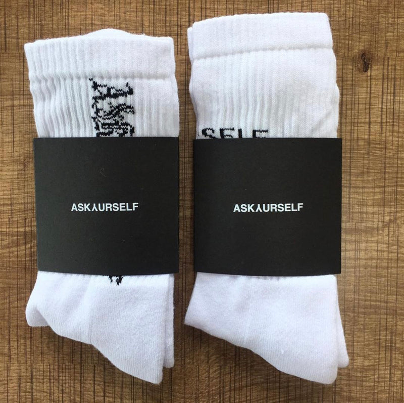 ASKYURSELF GOTHIC SOCKS